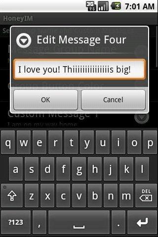 Honey IM- screenshot