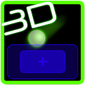 3D pong - curveball icon