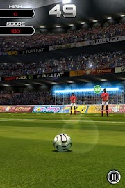 Flick Soccer! Screenshot 3