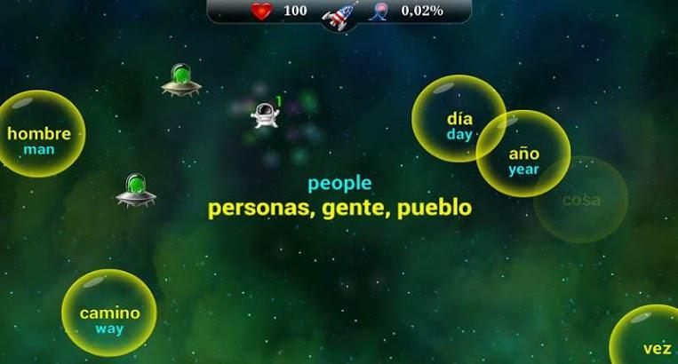 English Words for the Spanish- screenshot thumbnail