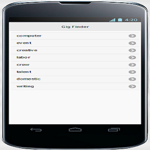 Gig Finder Android Apps On Google Play