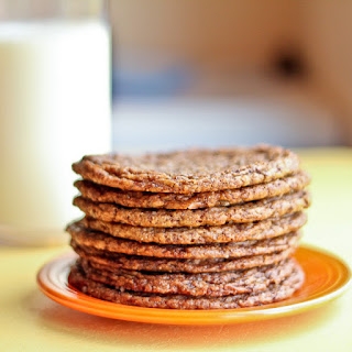 """""""Twisted Tollhouse"""" Shaved Chocolate Cookies."""