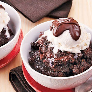 Slow-Cooker Brownie Pudding Cake