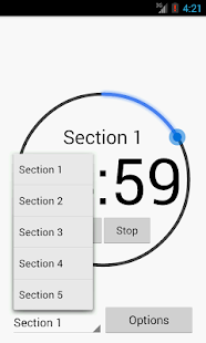 GRE Timer - screenshot thumbnail