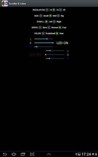 【免費生活App】Scroller - 發光二極管和文本-APP點子