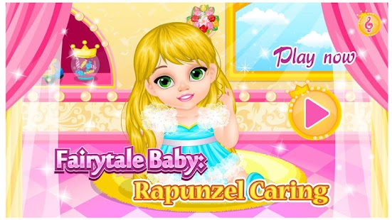 Baby Rapunzel Care- screenshot thumbnail