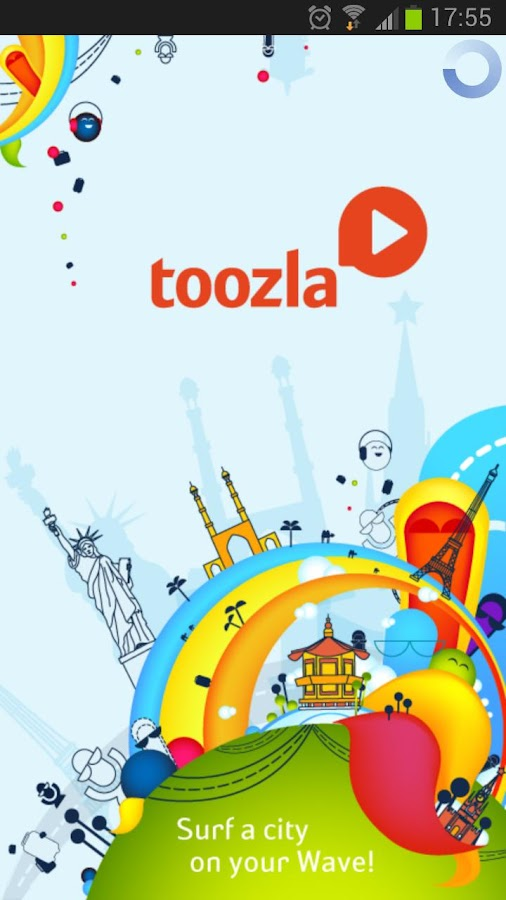 Audio guide Toozla - screenshot