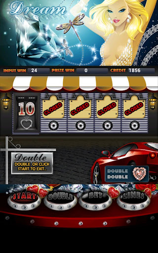 Diamond Dream Slot Machine HD Screen Capture 2