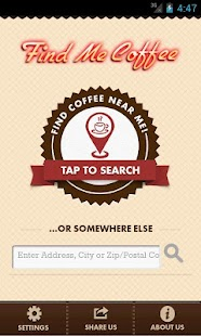 Find Me Coffee- screenshot thumbnail