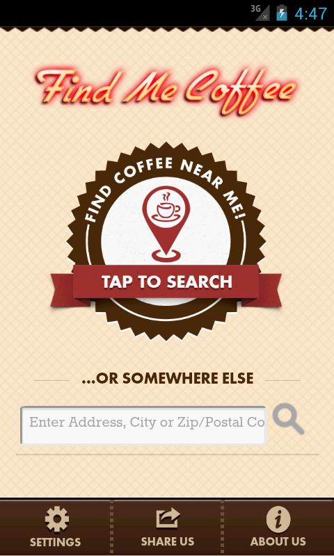 Find Me Coffee - screenshot