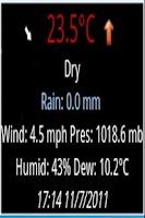 Screenshot of Weather Watch Widget - Demo
