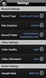Display Recorder Preview - screenshot thumbnail