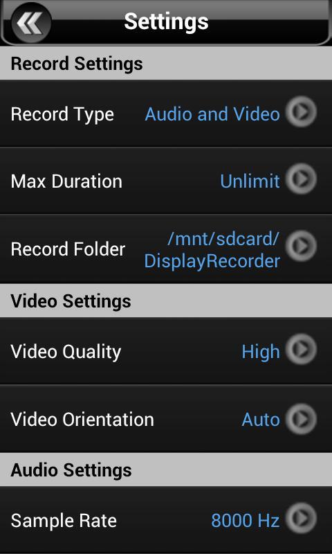 Display Recorder Preview - screenshot