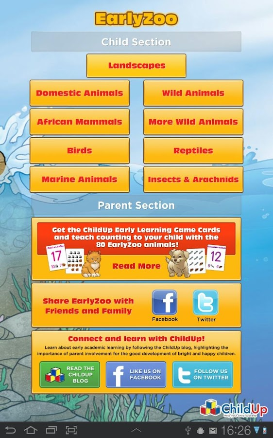 EarlyZoo - 80 Animals for Kids - screenshot