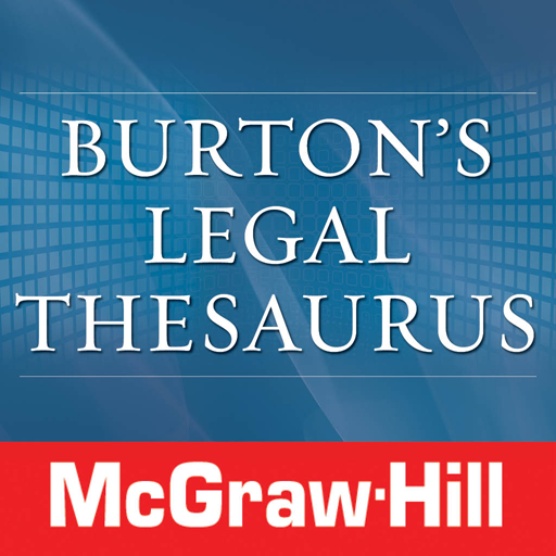 Burton's Legal Thesaurus TR 書籍 LOGO-阿達玩APP
