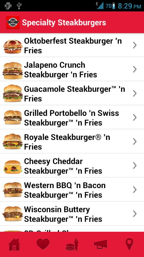 Steak 'n Shake - screenshot