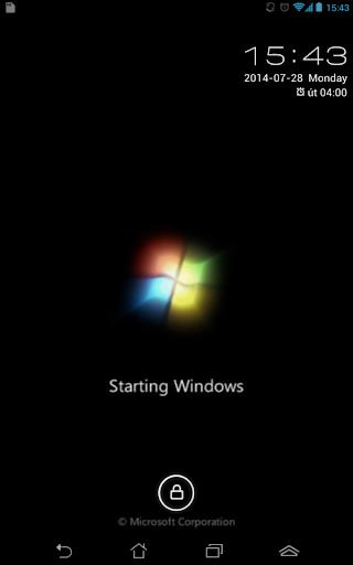 Windows Starting