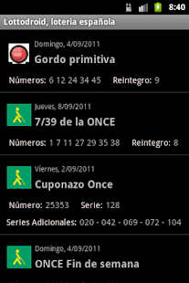 Lottodroid loterias y apuestas - screenshot thumbnail