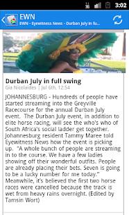 South Africa News - screenshot thumbnail