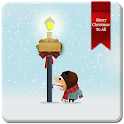 WinterSnowfall Clock LWP icon