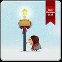 WinterSnowfall Clock LWP icon