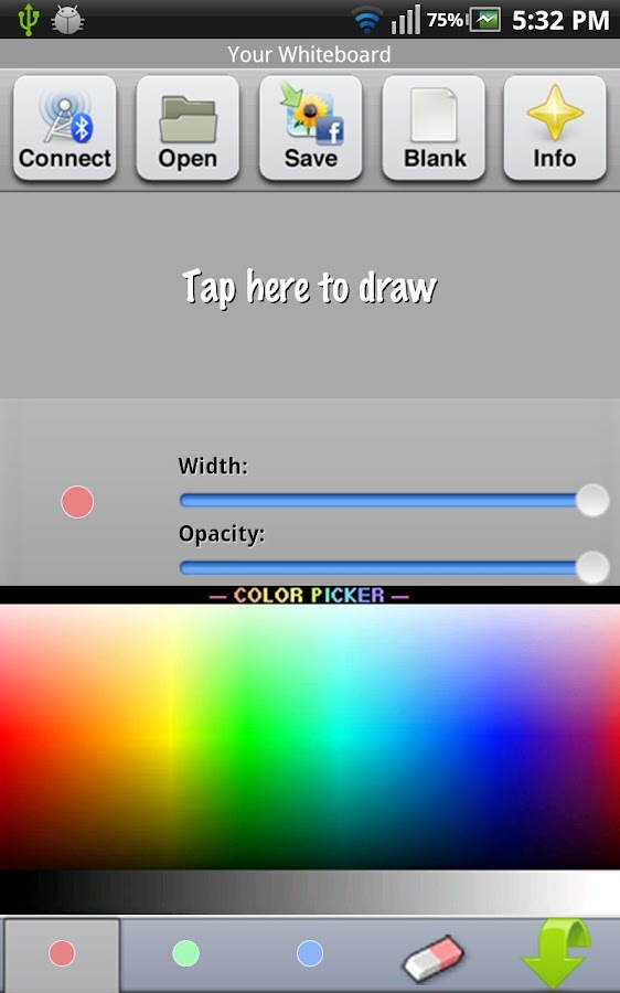 Whiteboard Pro- screenshot