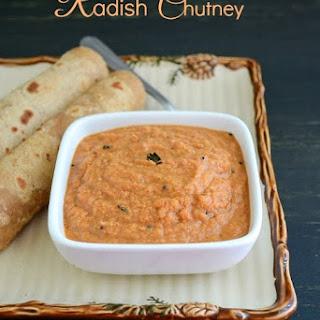 Radish Chutney / Mullangi Chutney ~ Easy Chutney Recipes !