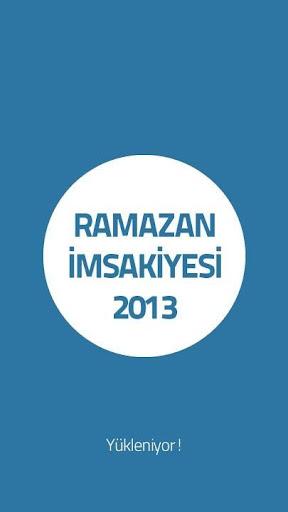 Ramazan İmsakiye 2013
