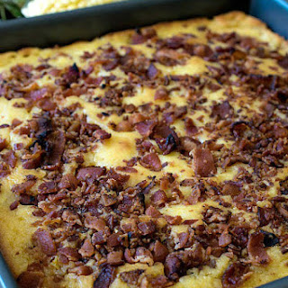 Bacon Topped Cornbread