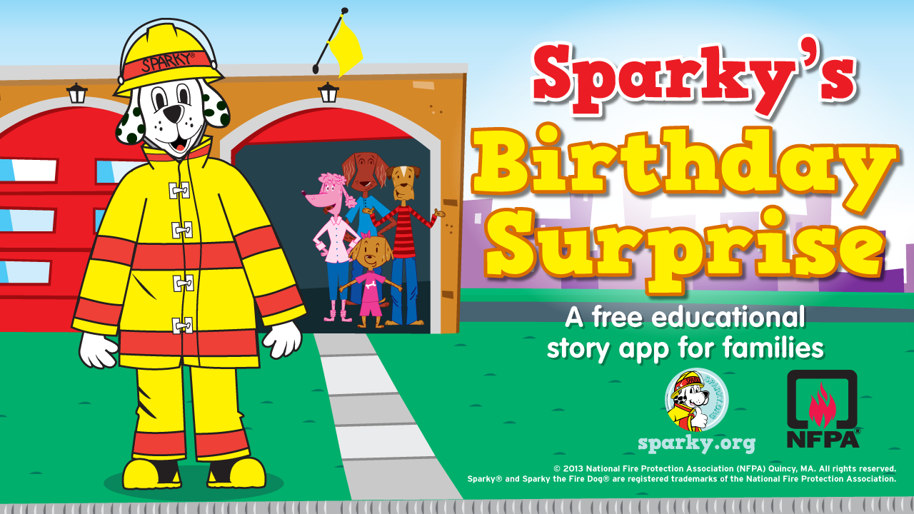 Sparky's Birthday Surprise- screenshot