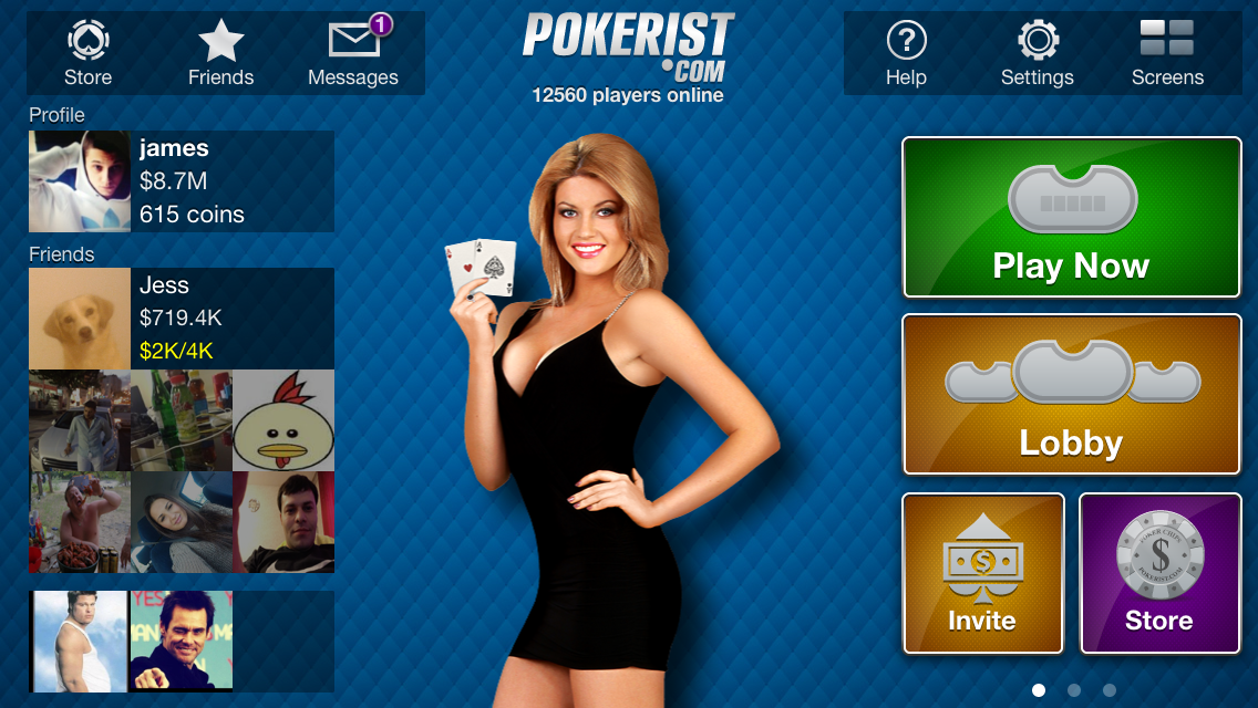 Texas Poker Lite- screenshot