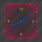Glowing Analog Clock