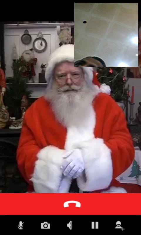 Video Calls With Santa- screenshot