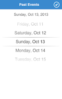 Screenshot of Chicago Events
