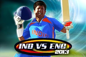 Screenshot of India vs England 2013