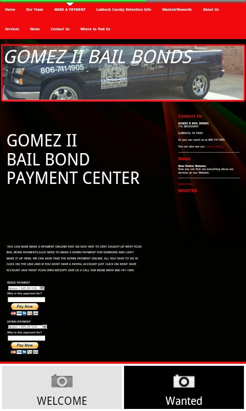 GOMEZ II BAIL BOND - screenshot