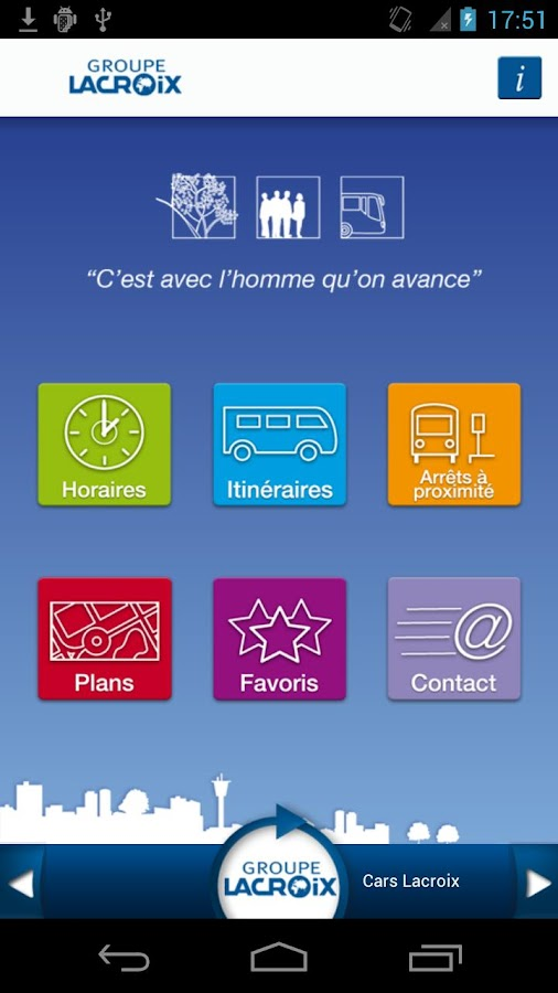 Groupe Lacroix- screenshot