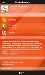 Houston Symphony screenshot
