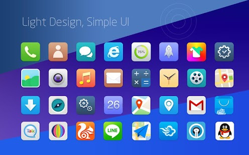 RUI Launcher-Smart launcher - screenshot thumbnail