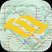 Singapore MRT Map