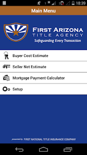 firstAZtitle – Real Estate- screenshot thumbnail