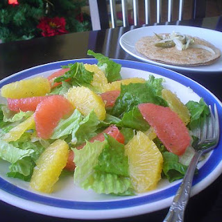 Salad with Citrus Fruits