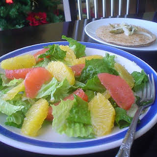 Salad with Citrus Fruits.