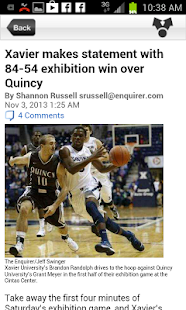 Cincinnati.Com Musketeers - screenshot thumbnail