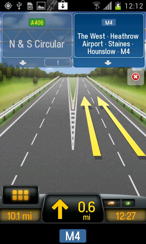 CoPilot Truck UK + IRE - screenshot