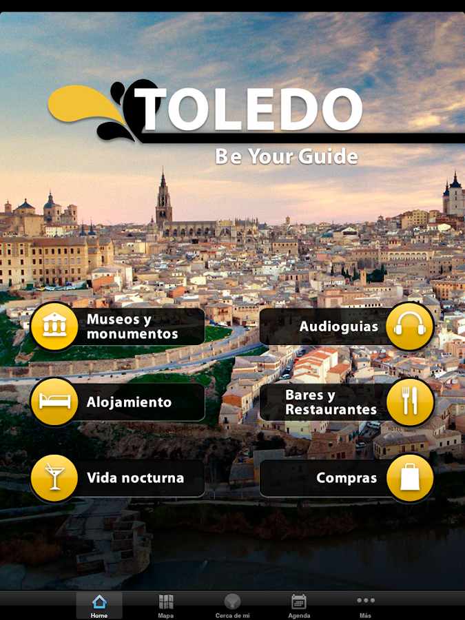 Be Your Guide - Toledo: captura de pantalla