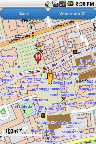 Frankfurt Amenities Map