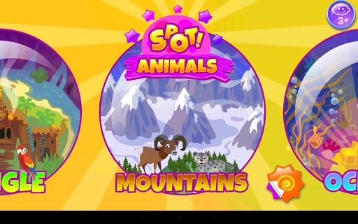 【免費解謎App】Spot! Animals(隐藏物品)-APP點子