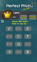 Screenshot of Perfect Pitch Trainer