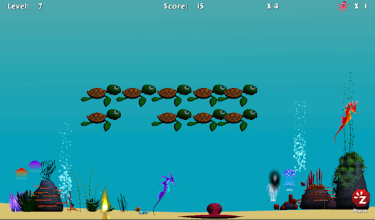 Turtle Invaders- screenshot thumbnail